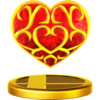 SSB4 Trophy HeartContainer