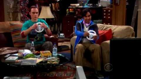 Big Bang Theory Mario Kart