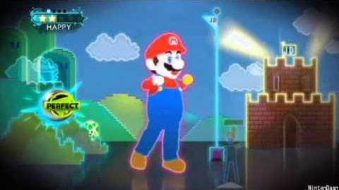 Just Dance 3 Ubisoft meets Nintendo - Just Mario