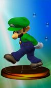 SSBM Trophy 047 Luigi Smash1