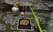AR games fishing Lakitu