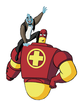 Osmosis Jones and Drix