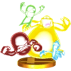 SSB4 Trophy Ghosts 3DS