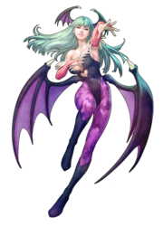 Morrigan aensland art