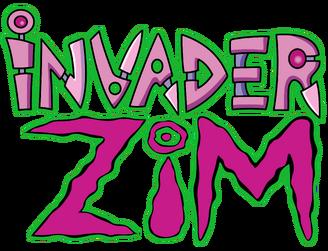 A invader Zim logo
