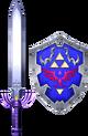 SC2 weapon Link MasterSword&HylianShield