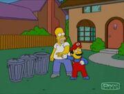 Simpsons 343 Mario