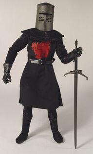 A Black Knight its just a flesh wond