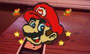 AR games graffiti Mario