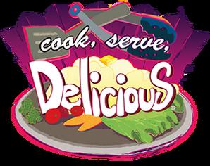 Cook Serve Delicious logo