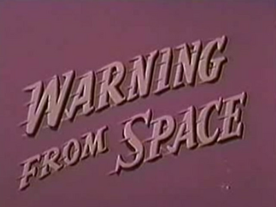 Warning from Space logo