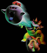 Luigismansion King Boo Bowser