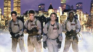 A Group of Ghostbusters