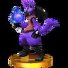 SSB4 Trophy LucarioAlt 3DS