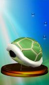 SSBM Trophy 098 Green Shell