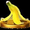 SSB4 Trophy BananaPeel