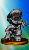 SSBM Trophy 202 Metal Mario