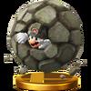 SSB4 Trophy RockMario