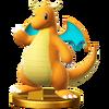 SSB4 Trophy Dragonite