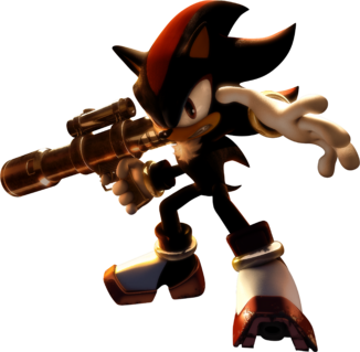 A Shadow the hedgehog