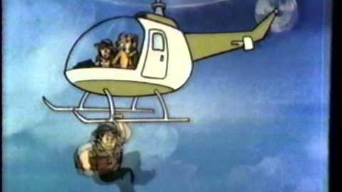 1983 CBS Saturday Supercade Intro