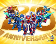 Mega Man 20th