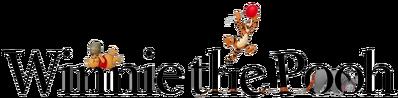 A winnie the pooh logo