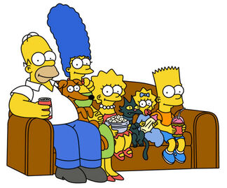 A simpsons family