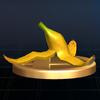 SSBB Trophy 523 Banana Peel