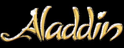 Aladdin by disney logo