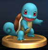 SSBB Trophy Squirtle