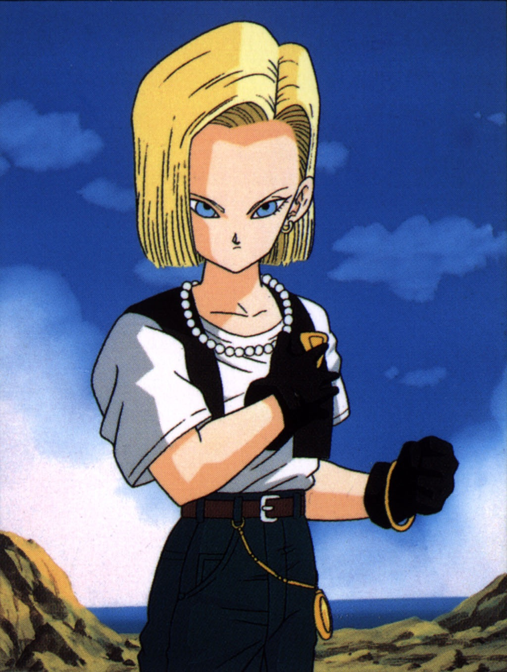 Android 18 Fictional Fighters Wiki Fandom
