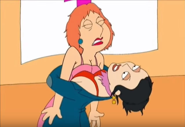 Lois Struggles Against Gloria Ironbachs Getting Crushed By Her Stronger Opponent