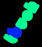 KAZF Mid 1980s logo