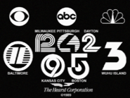 Hearst Stations with WWNB 1989