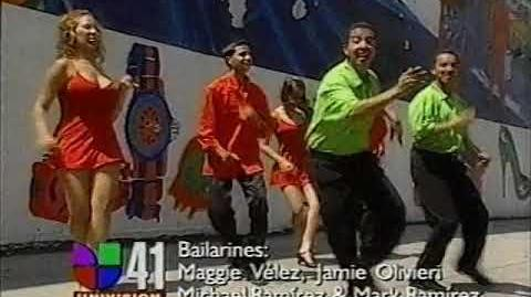 WXLI-TV Univision 41 Se Siente Promo -2 (2000). 8, 2000