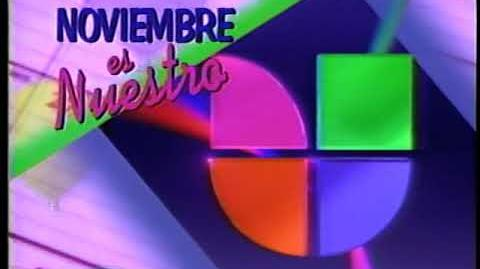 Noviembre es Nuestro - Univision WXLI 41 November Sweeps Campaign 1993