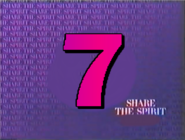 WATG's logo from 1986 using CBS's Share the Spirit campaign