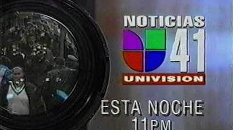 WXLI Univision 41 - News Brief (Sabado, 8 de Enero 2000)