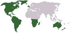 Oceania territory