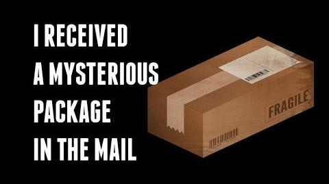 """""""I Received A Mysterious Package In The Mail"""" reading by KingSpook"""