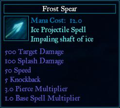 SpellFrostSpear