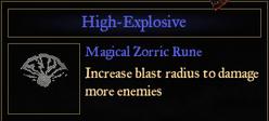 RuneHighExplosive