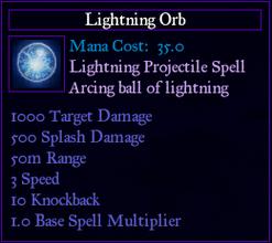 SpellLightningOrb