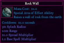 ActivatedRockWall