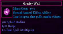 ActivatedGravityWell