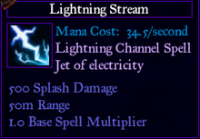 SpellLightningStream