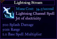 SpellLightningStream
