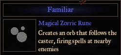 RuneFamiliar