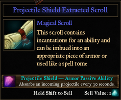PassiveProjectile Shield